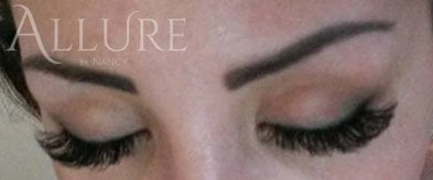 Mega volume lashes by Nancy