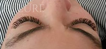 Volume lashes by Nancy