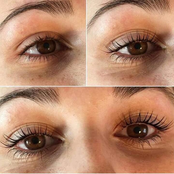 nouveau lashes - lash lift