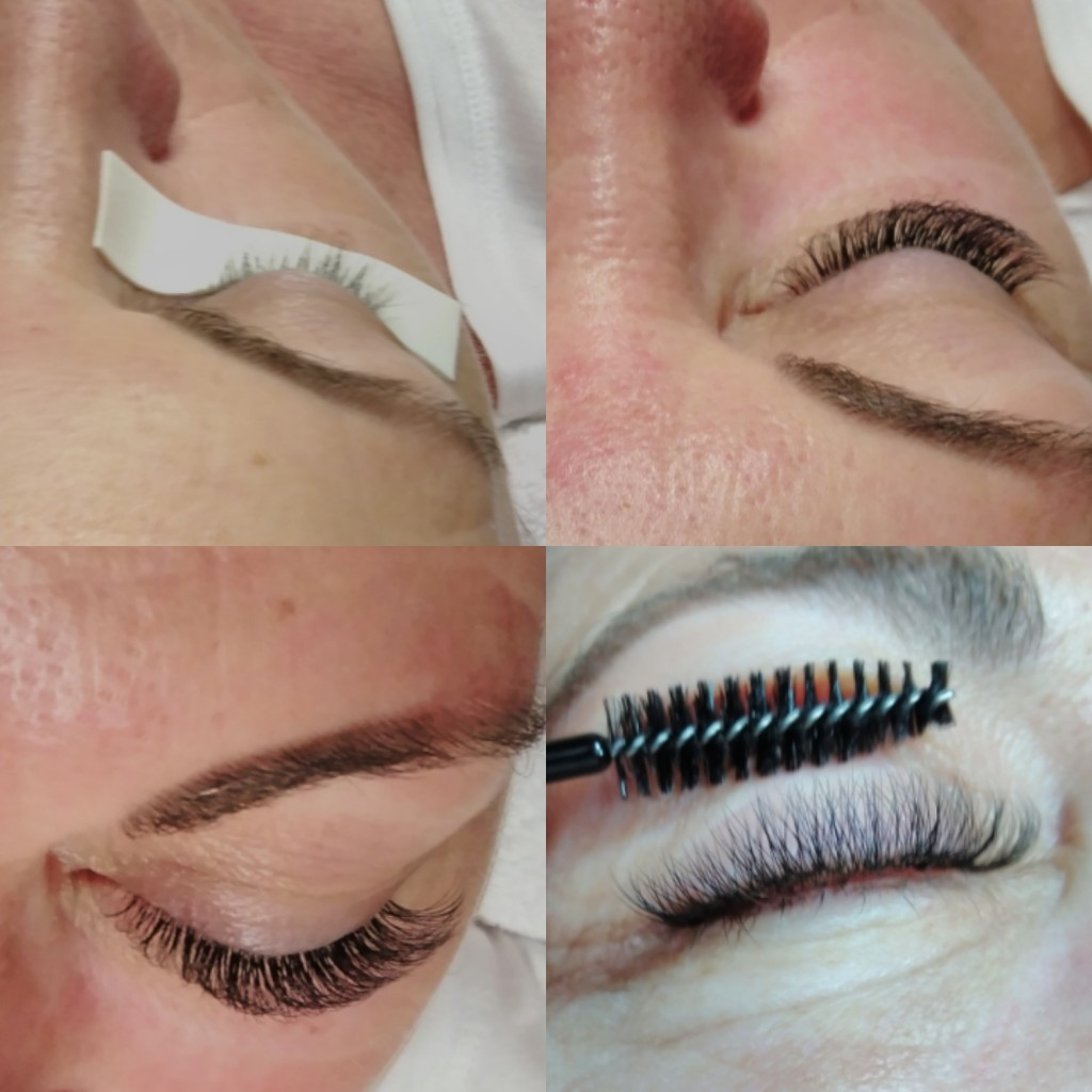 Soft Volume lashes by Nancy